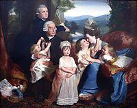 Portrait of Familie Copley, 1776, copley