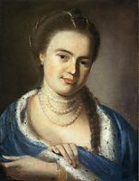 Portrait of Mrs.Gawen Brown, 1763, copley