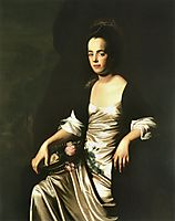 Portrait of Mrs. John Stevens (Judith Sargent, later Mr. John Murray), 1772, copley