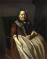 Portrait of Mrs.Paul Richard, 1771, copley