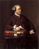 Portrait of Nathaniel Allen, 1763, copley