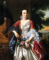Portrait of Rebecca Boylston, 1767, copley