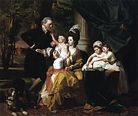 Sir William Pepperrell and Family, 1778, copley