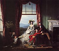 The Stillwell Family, 1786, copley