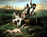 Watson and the Shark, 1782, copley
