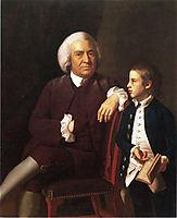 William Vassall and His Son Leonard, c.1772, copley