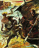 The Abduction, 1918, corinth