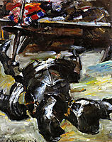 Armor in the Studio, 1918, corinth