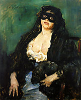 The Black Mask, 1908, corinth