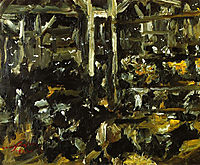 Cowshed, 1912, corinth
