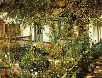 Farmyard in Bloom, 1904, corinth