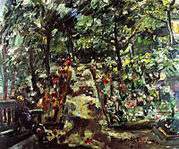 Garden in the West End of Berlin, 1925, corinth