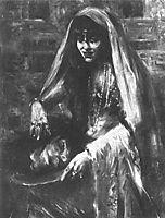 Gertrud Eysoldt as Salome, 1903, corinth