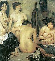 The Harem, 1904, corinth