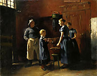 In the Fisherman-s House, 1886, corinth