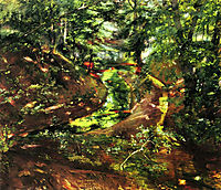 In the Woods near Bernried, 1892, corinth