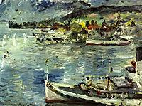 Lake Lucerne-Morning, 1924, corinth