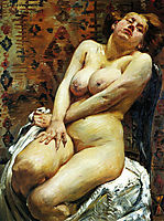 Nana-Female Nude, 1911, corinth