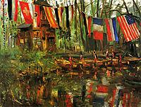 The New Pond in the Tiergarten, Berlin, 1908, corinth