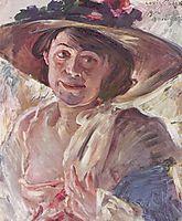 Porträt der Charlotte Berend-Corinth, 1912, corinth