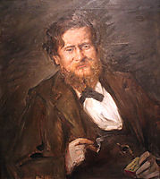 Portrait of the Painter Fritz Rumpf, 1901, corinth