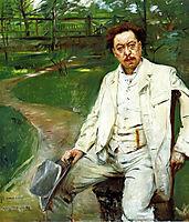 Portrait of the Pianist Conrad Ansorge, 1903, corinth