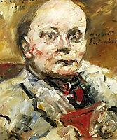 Portrait of the Poet Herbert Eulenberg, 1924, corinth
