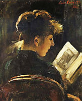 Reading Woman, corinth