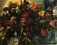 Red and Yellow Tulips, 1918, corinth
