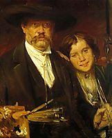 Self-Portrait, 1888, corinth