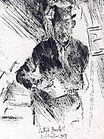 Self-Portrait, 1919, corinth