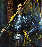 Self-Portrait as Standard Bearer, 1911, corinth