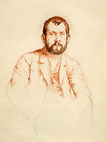Self-Portrait with Beard, 1886, corinth