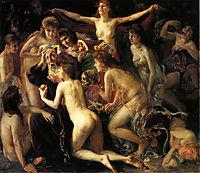 The Temptation of Saint Anthony, 1897, corinth