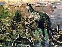 The Trojan Horse, 1924, corinth