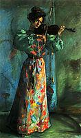The Violinist, 1900, corinth