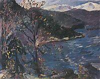 Walchensee im Herbst, corinth
