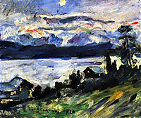 The Walchensee on Saint John-s Eve, 1920, corinth