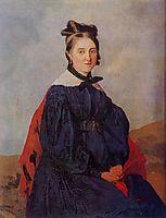 Alexina Ledoux, c.1830, corot