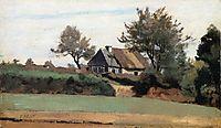 Archicourt, Near Arras, c.1857, corot