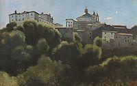Ariccia, Palazzo Chigi, 1826, corot