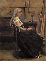The Artist-s Studio, 1870, corot