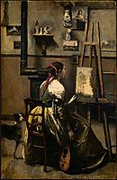 The Artist-s Studio, c.1868, corot