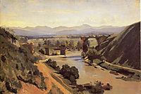 The Augustan Bridge at Narni, 1826, corot