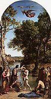 The Baptism of Christ, 1847, corot
