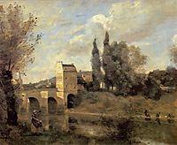 The Bridge of Mantes, 1868-70, corot