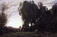 Circle of Nymphs, Morning, c.1857, corot