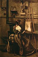 Corot-s Studio, 1873, corot