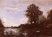 Cuicy Marsh, near Douai, corot