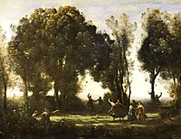 Dance of the Nymphs, 1850, corot